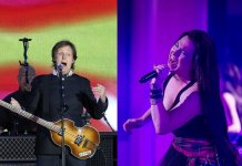Paul McCartney and Amy Lee