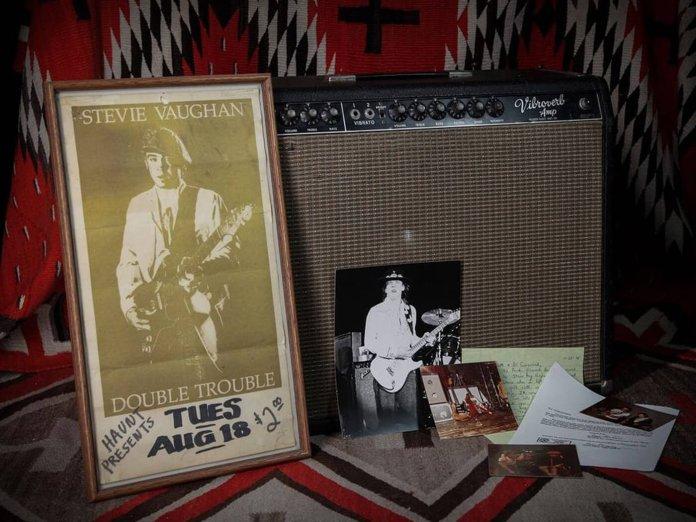 Steve Ray Vaughan's 1964 Fender Vibroverb