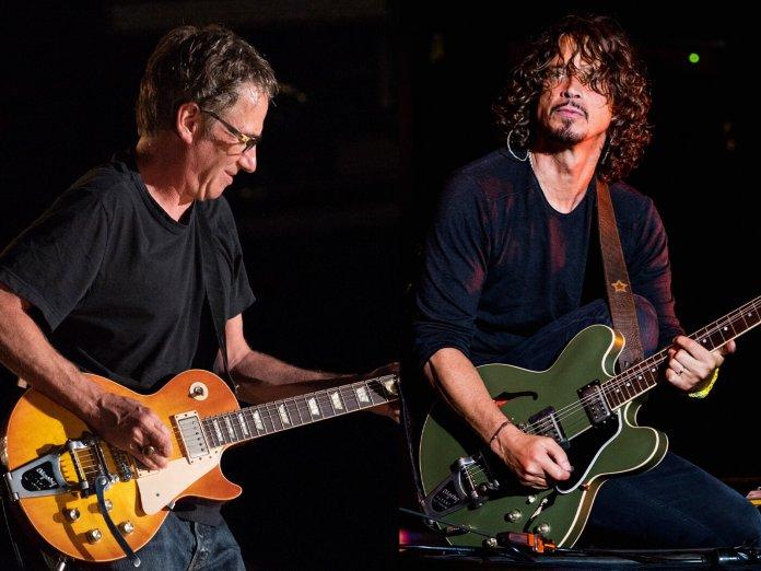 stone gossard and Chris Cornell