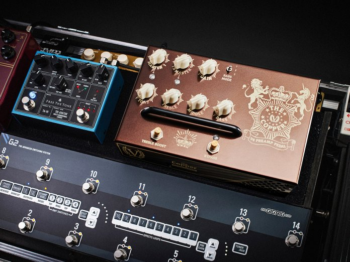 Victory's The Copper preamp