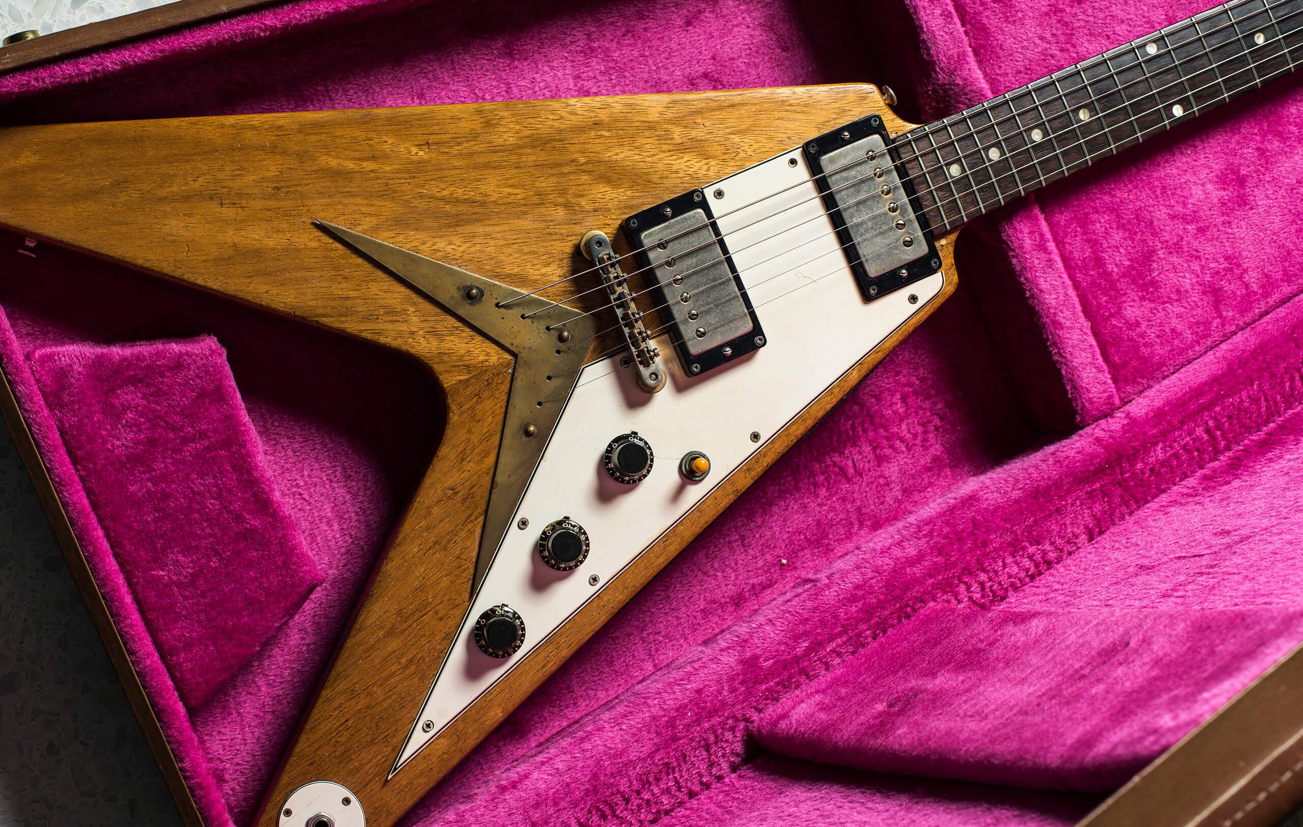Dave Davies' Gibson Flying V
