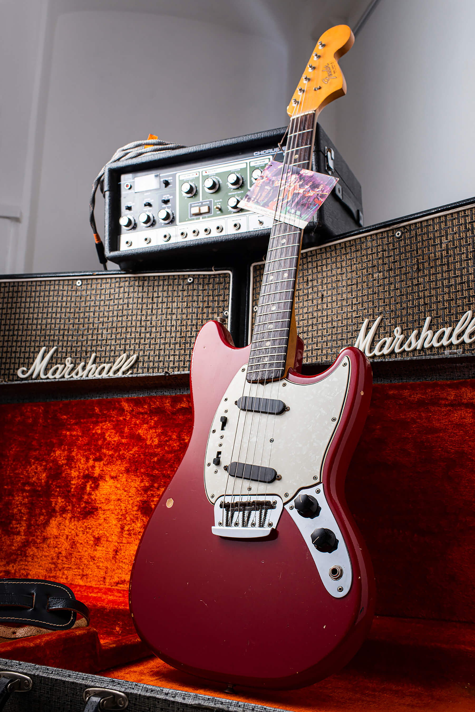 Giles Palmer's 1960s Fender Duo Sonic