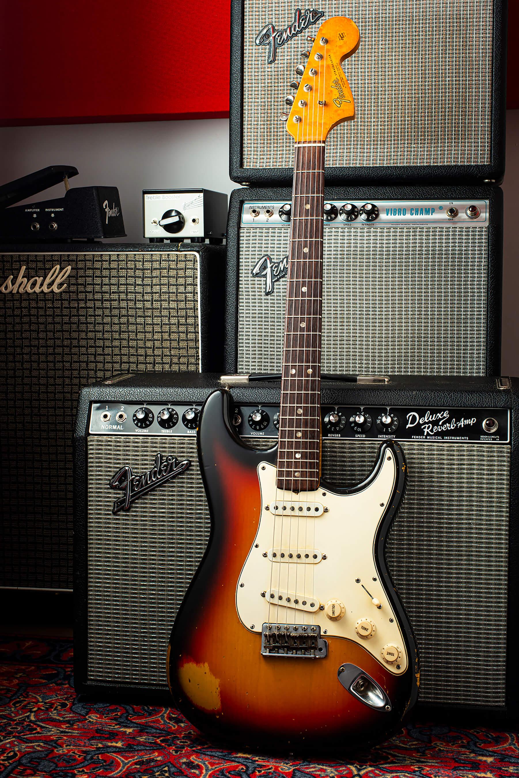Giles Palmer's 1966 Fender Stratocaster