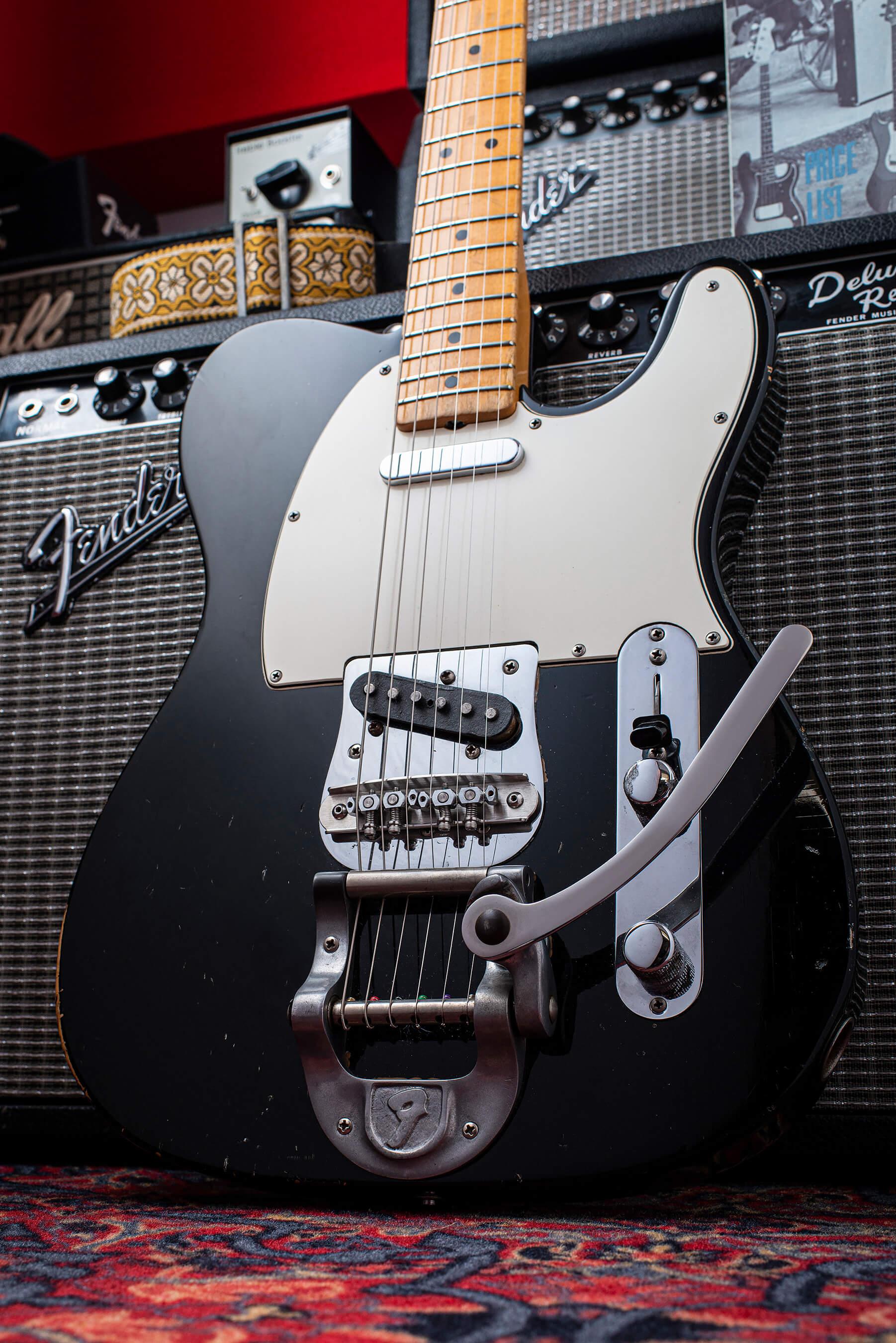 Giles Palmer's 1968 Fender Telecaster w Bigsby