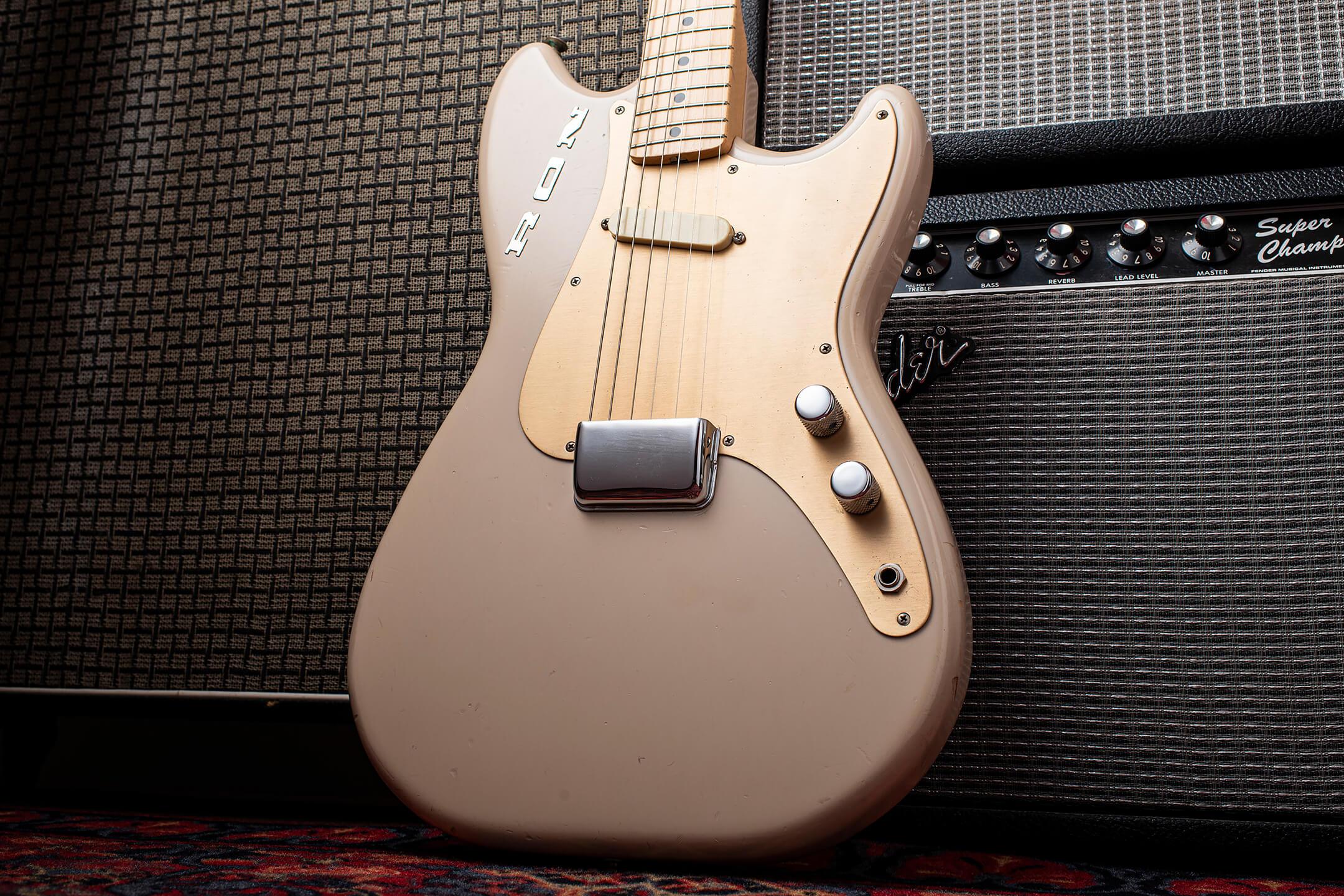 Giles Palmer's 1957 Fender Musicmaster RON