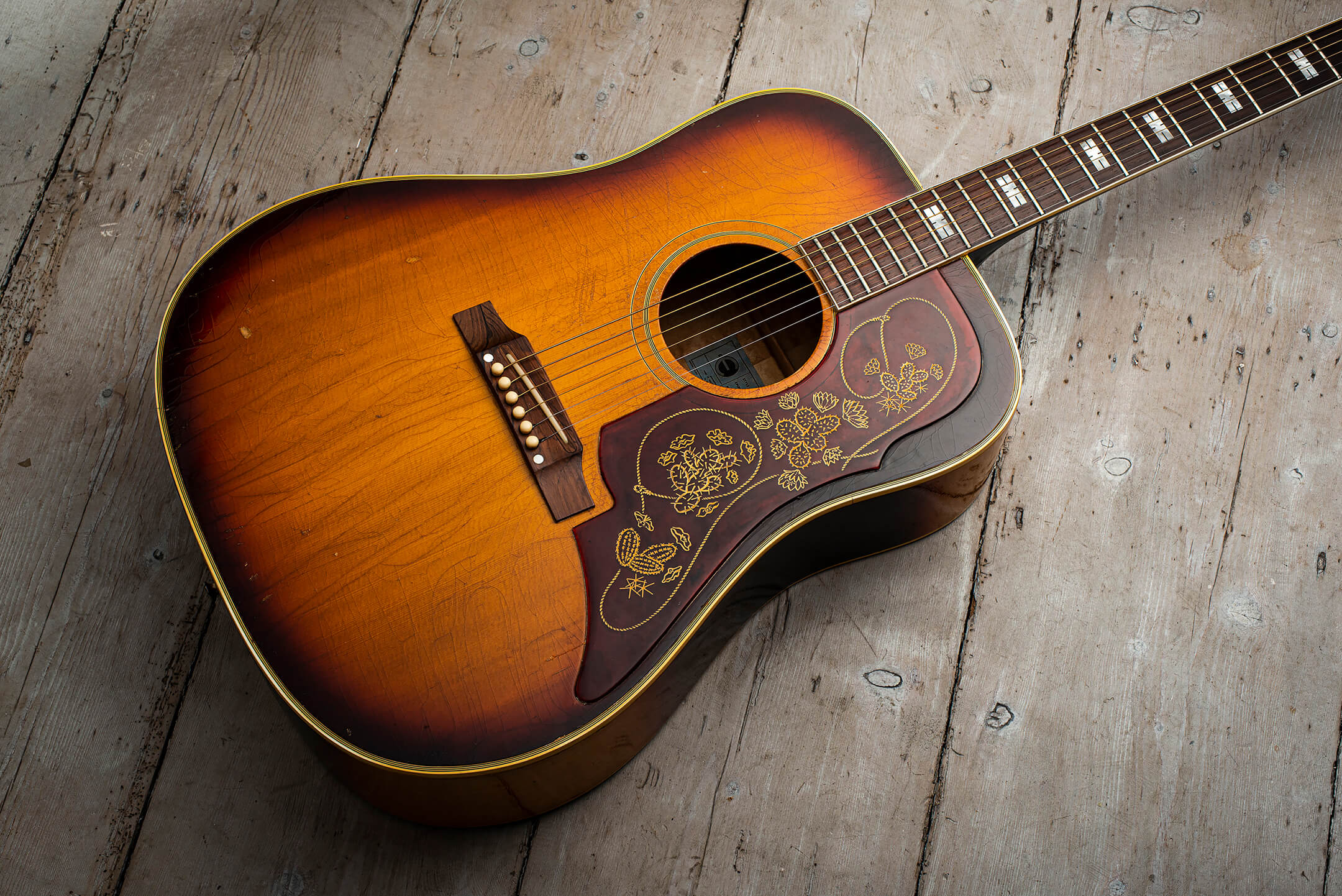 Giles Palmer's 1966 Epiphone Frontier
