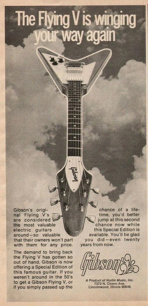 History of Flying V