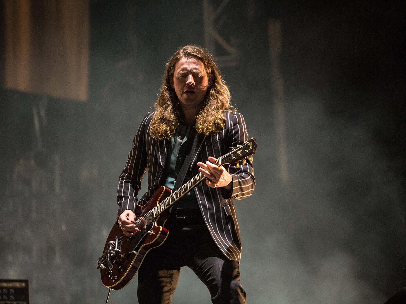 Jamie Cook of Arctic Monkeys