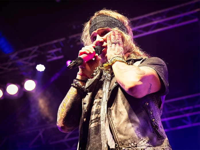 Steel Panther onstage