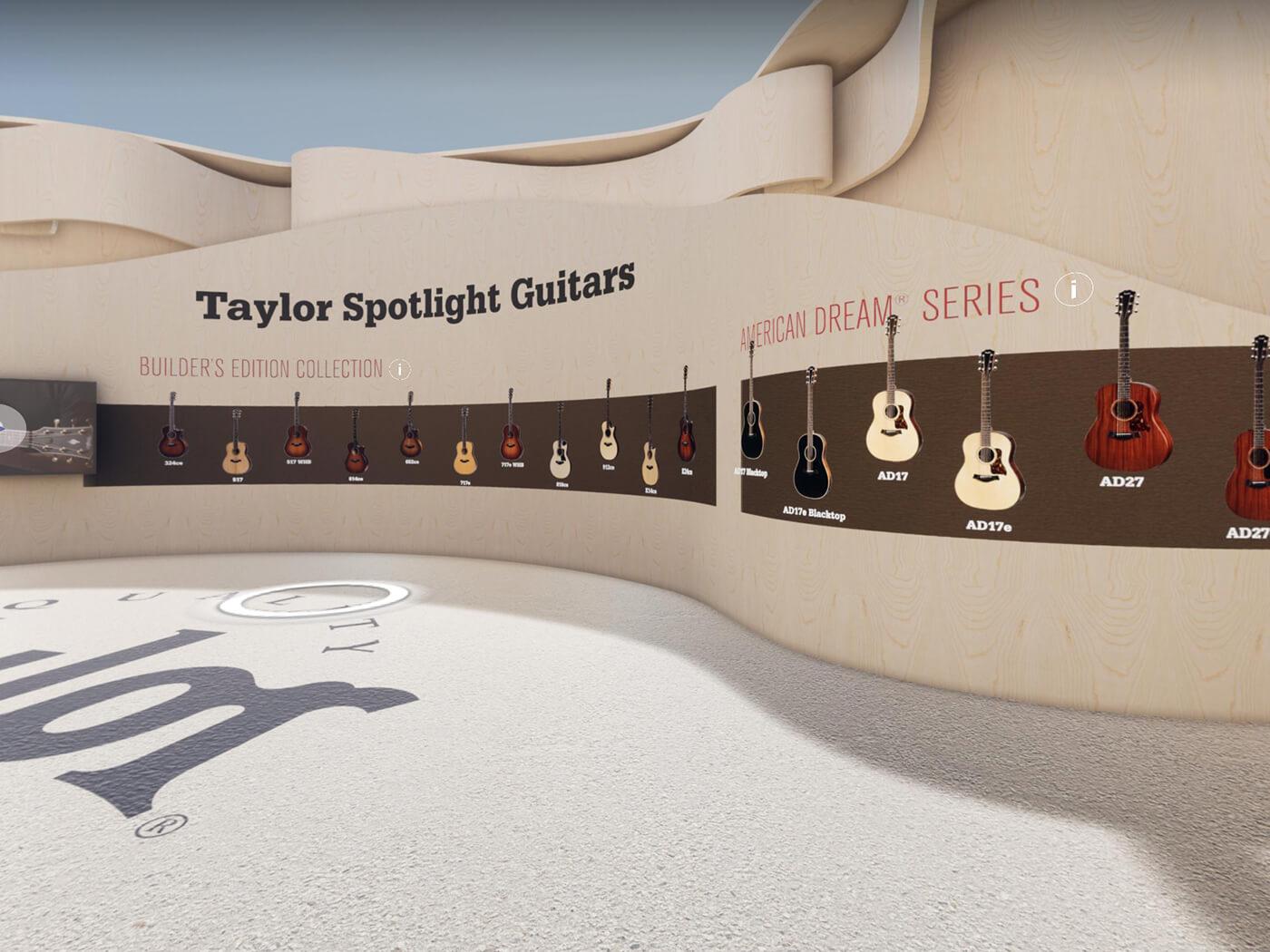 Taylor at Guitar.com Live Spotlight Guitars