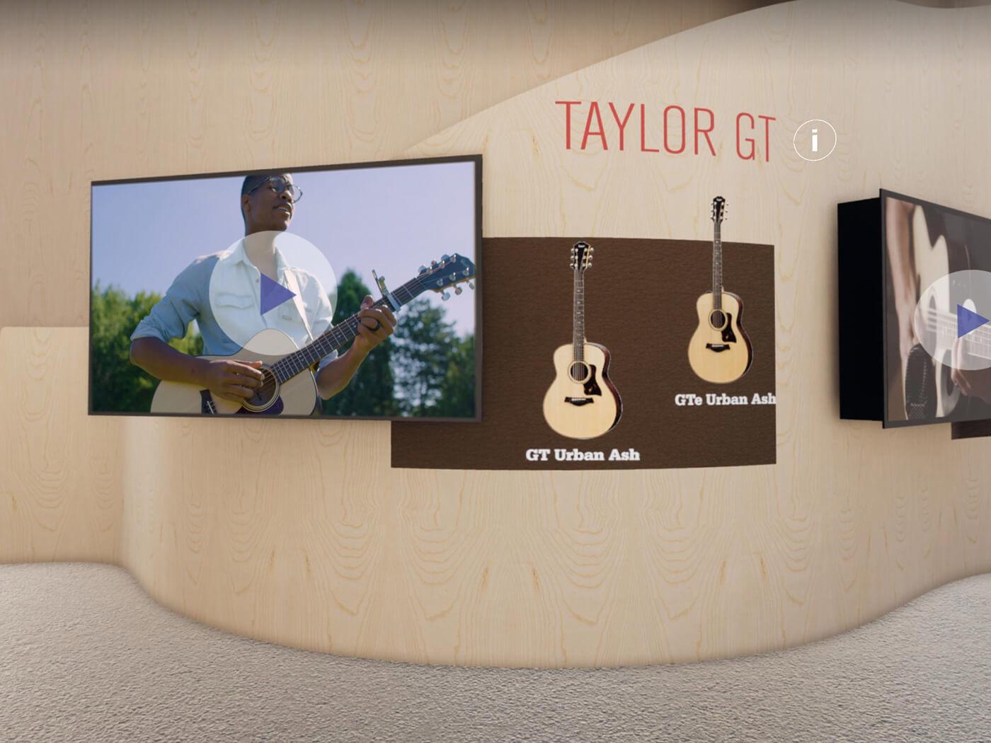 Taylor at Guitar.com Live Taylor GT