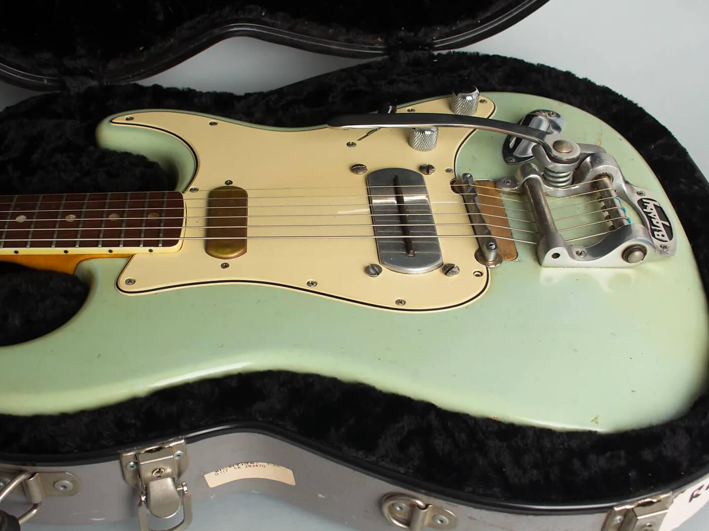 "Ry Cooder's 67 Stratocaster ""Coodercaster"""