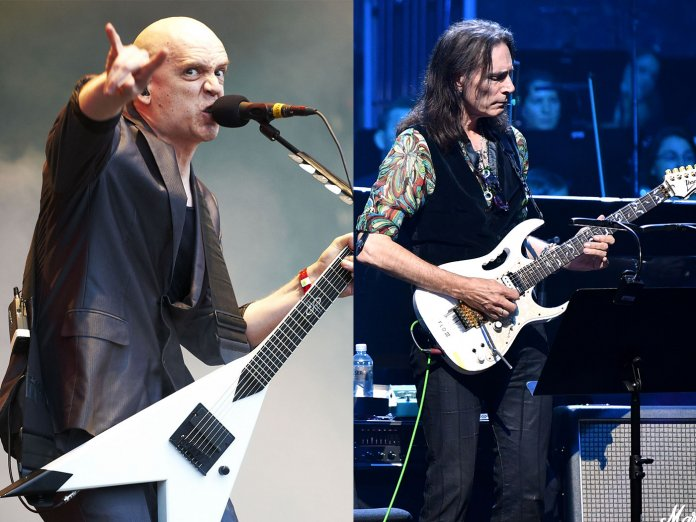 Devin Townsend and Steve Vai