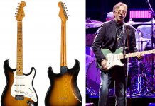 Eric Clapton's Slowhand Strat and Eric Clapton