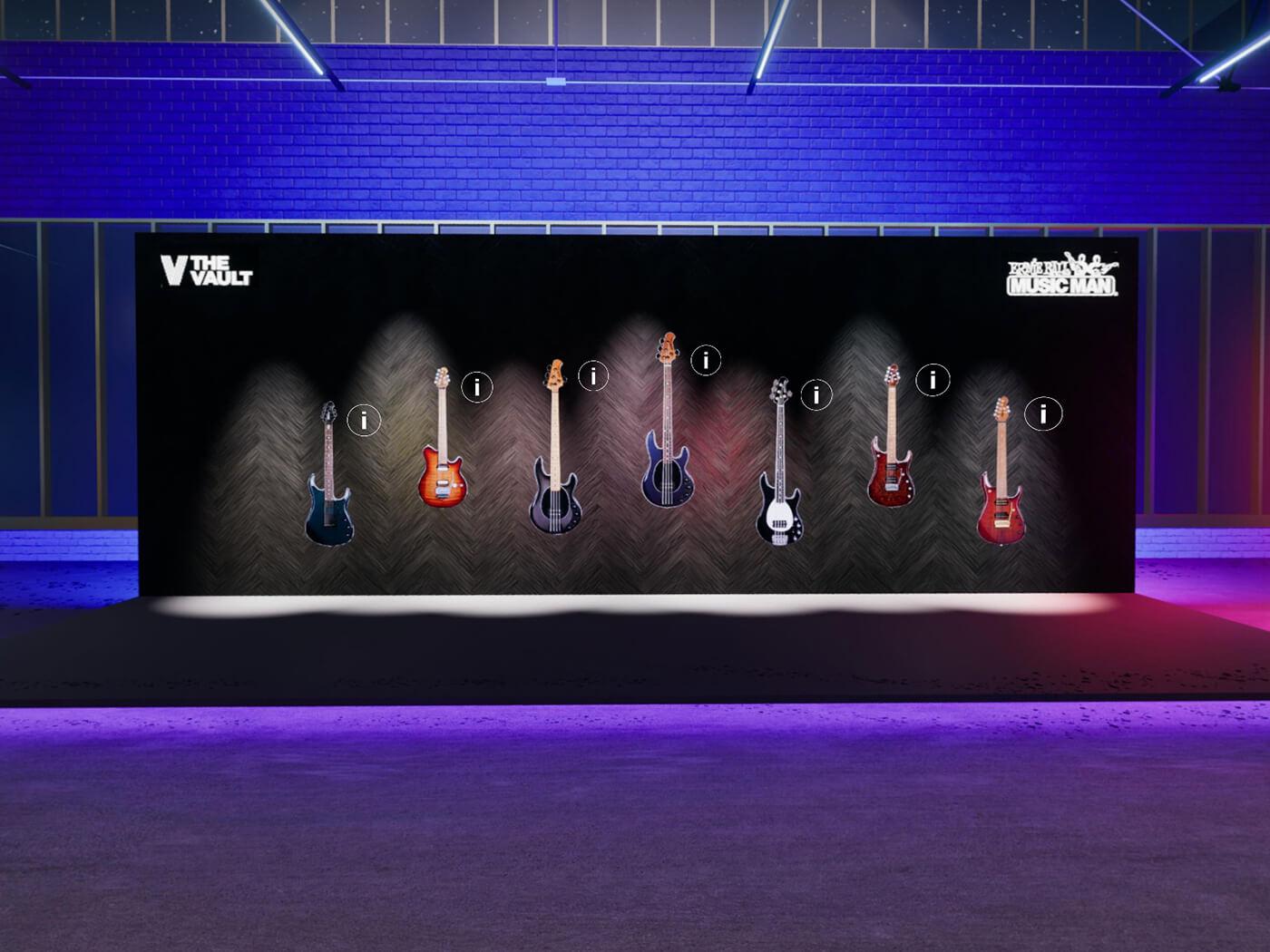Ernie Ball's Vault at Guitar.com Live