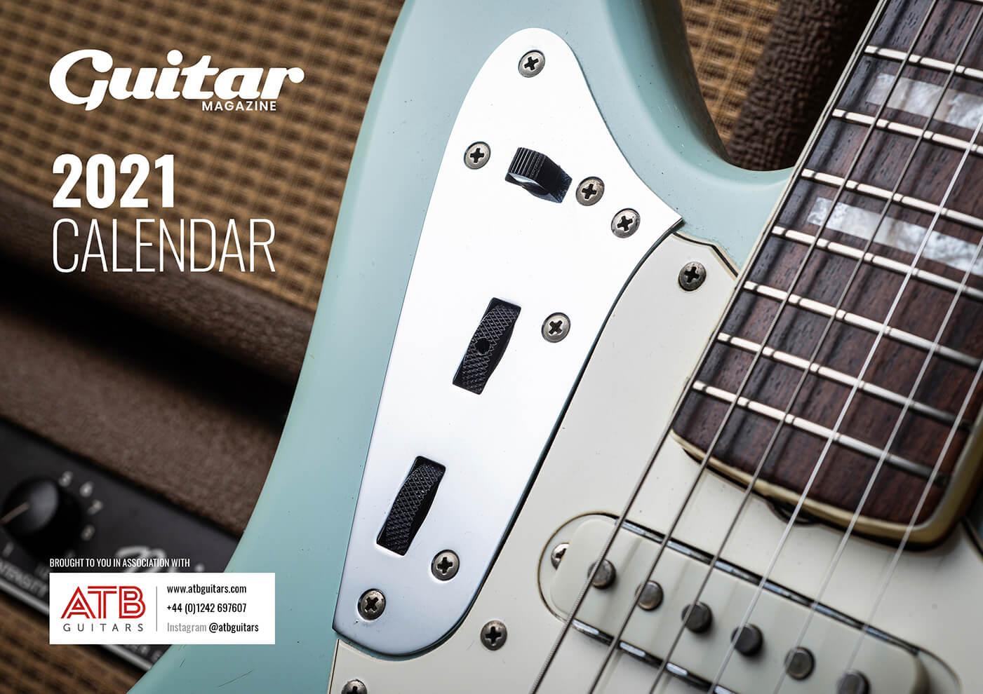 guitar magazine free calendar 2021