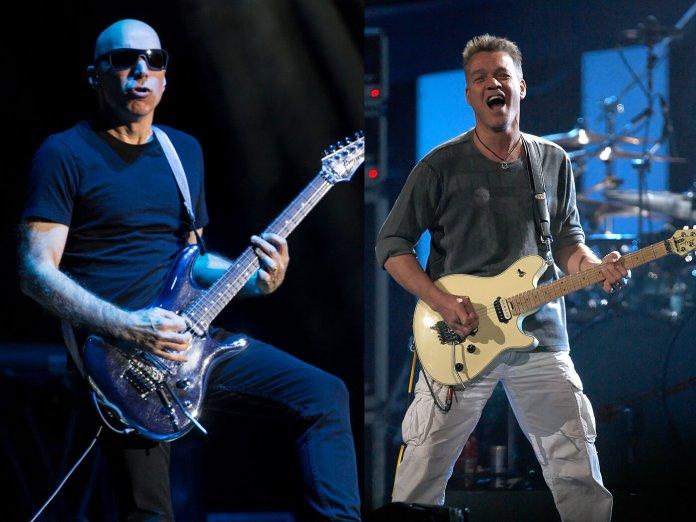Joe Satriani and Eddie Van Halen