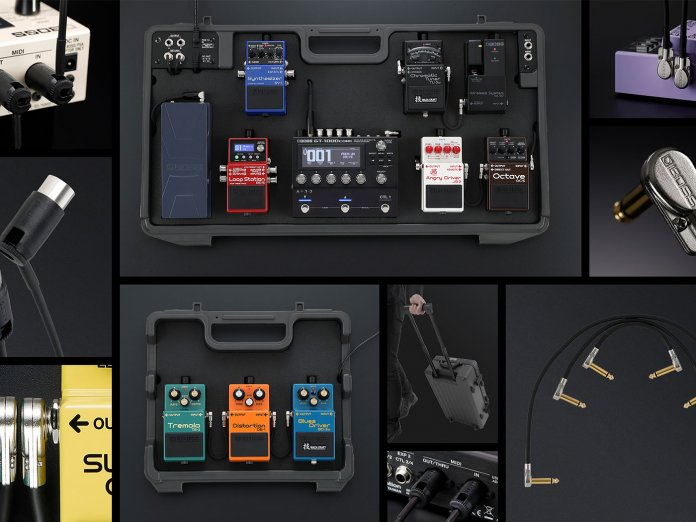 Boss' new pedalboard and pedalboard accessories