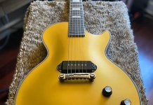Epiphone JJN Gold Glory Les Paul Custom