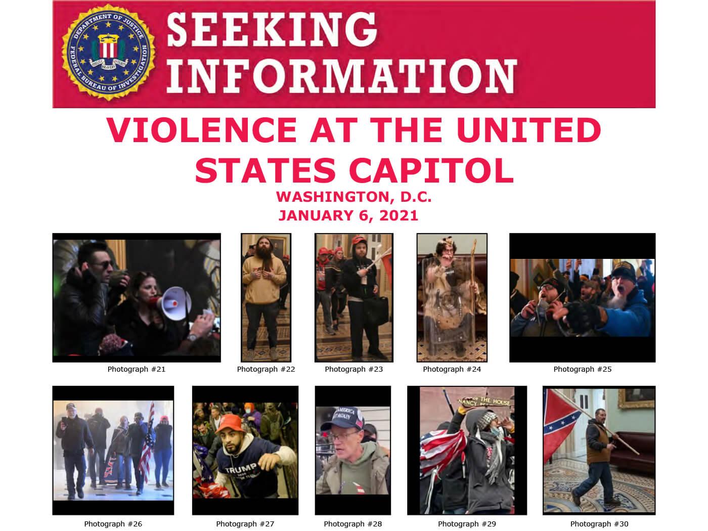FBI Seeking Information Jon Schaffer