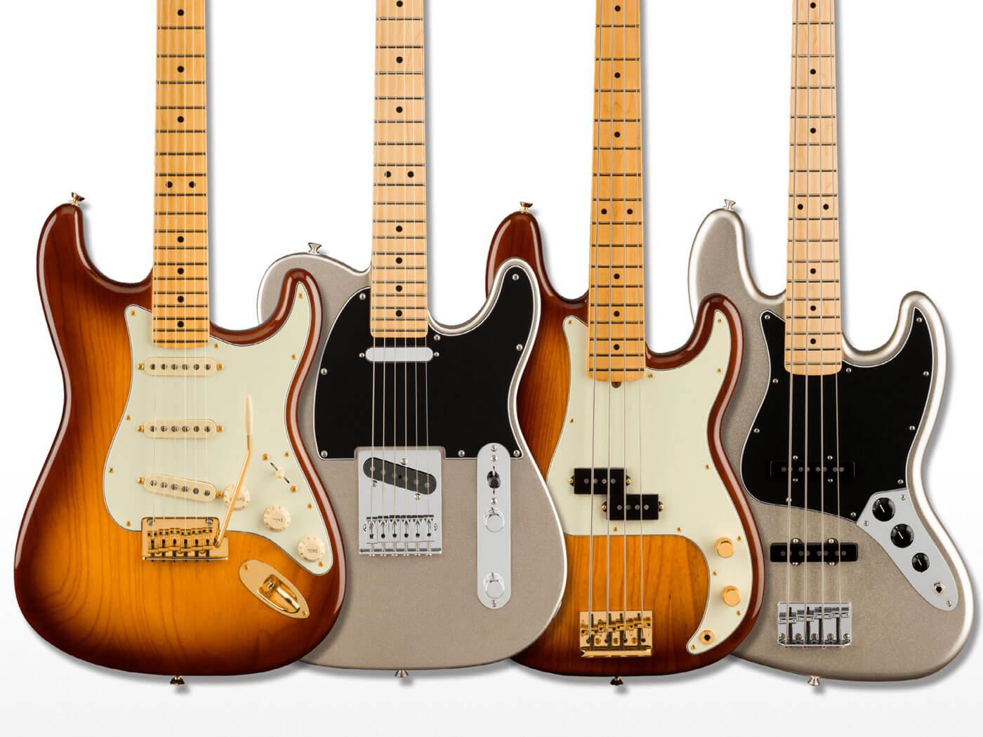 Fender's 75th anniversary models