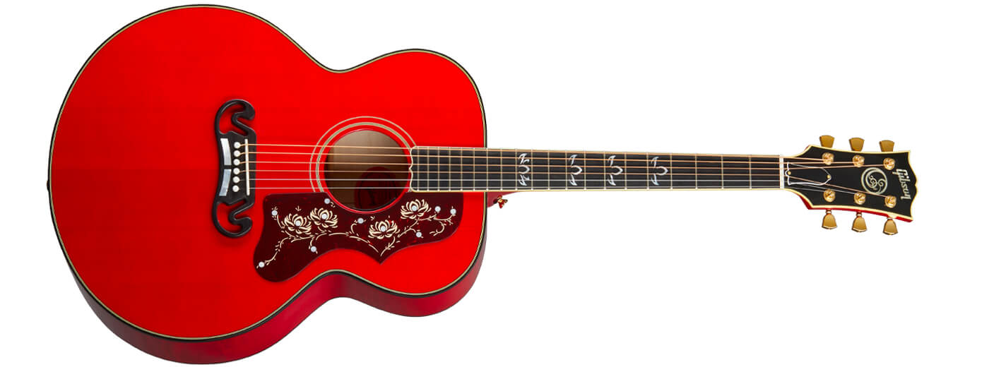 Gibson details Orianthi's new signature SJ-200 Custom acoustic-electric  guitar | Guitar.com | All Things Guitar
