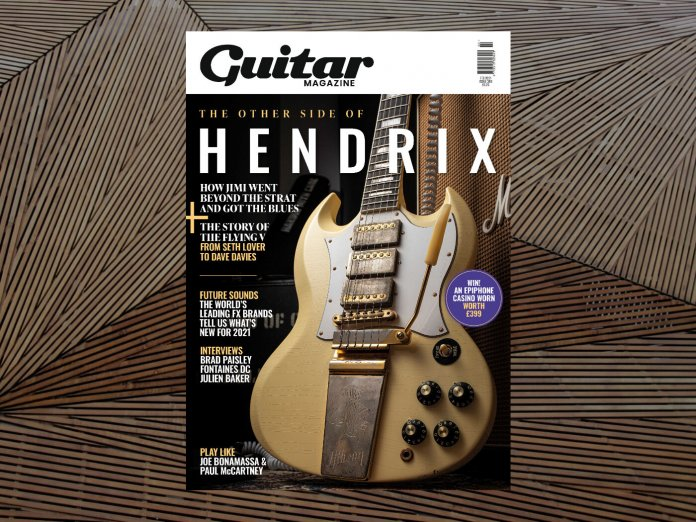 guitar magazine 389 january 2021 issue