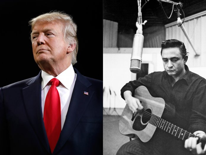 Johnny Cash & Donald Trrump