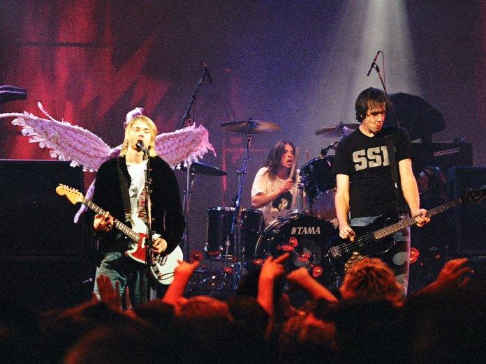 Nirvana onstage
