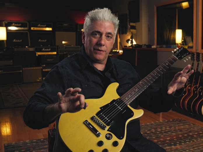 Rick Beato with Gibson Special LP DC