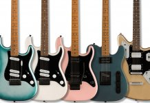 Squier's new Contemporary models