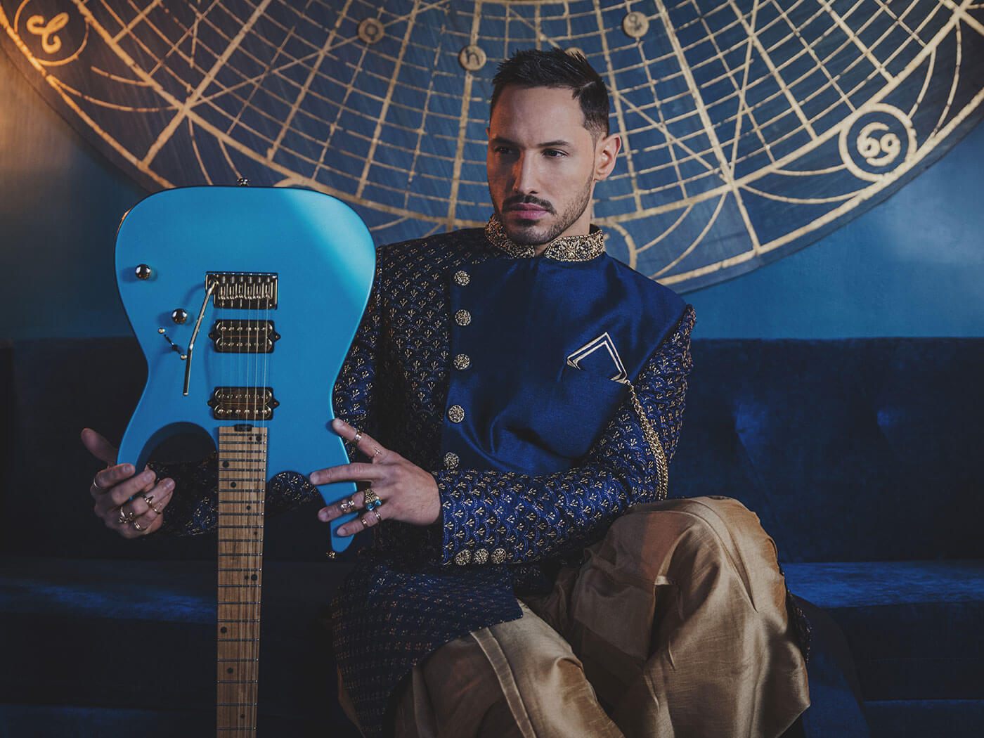 Angel Vivaldi and his new Charvel signature