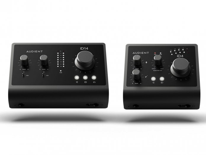 Audient id4 and id14 MkII