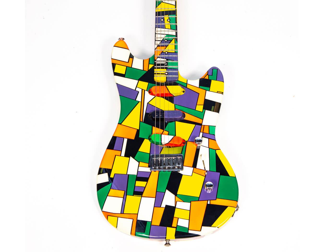 Dweezil Zappa's custom Neal Moser guitar