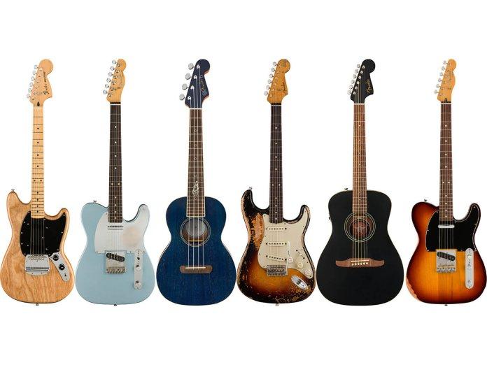 Fender's Artist models for 2021