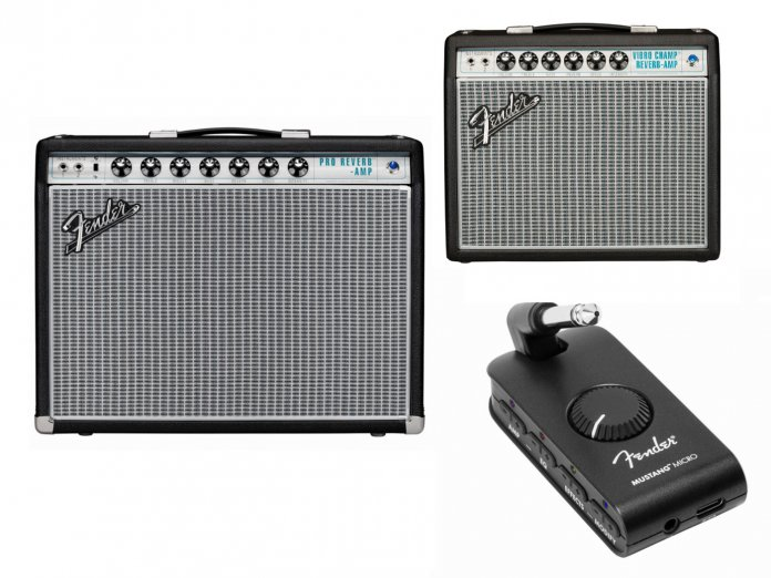 Fender's new amplifiers