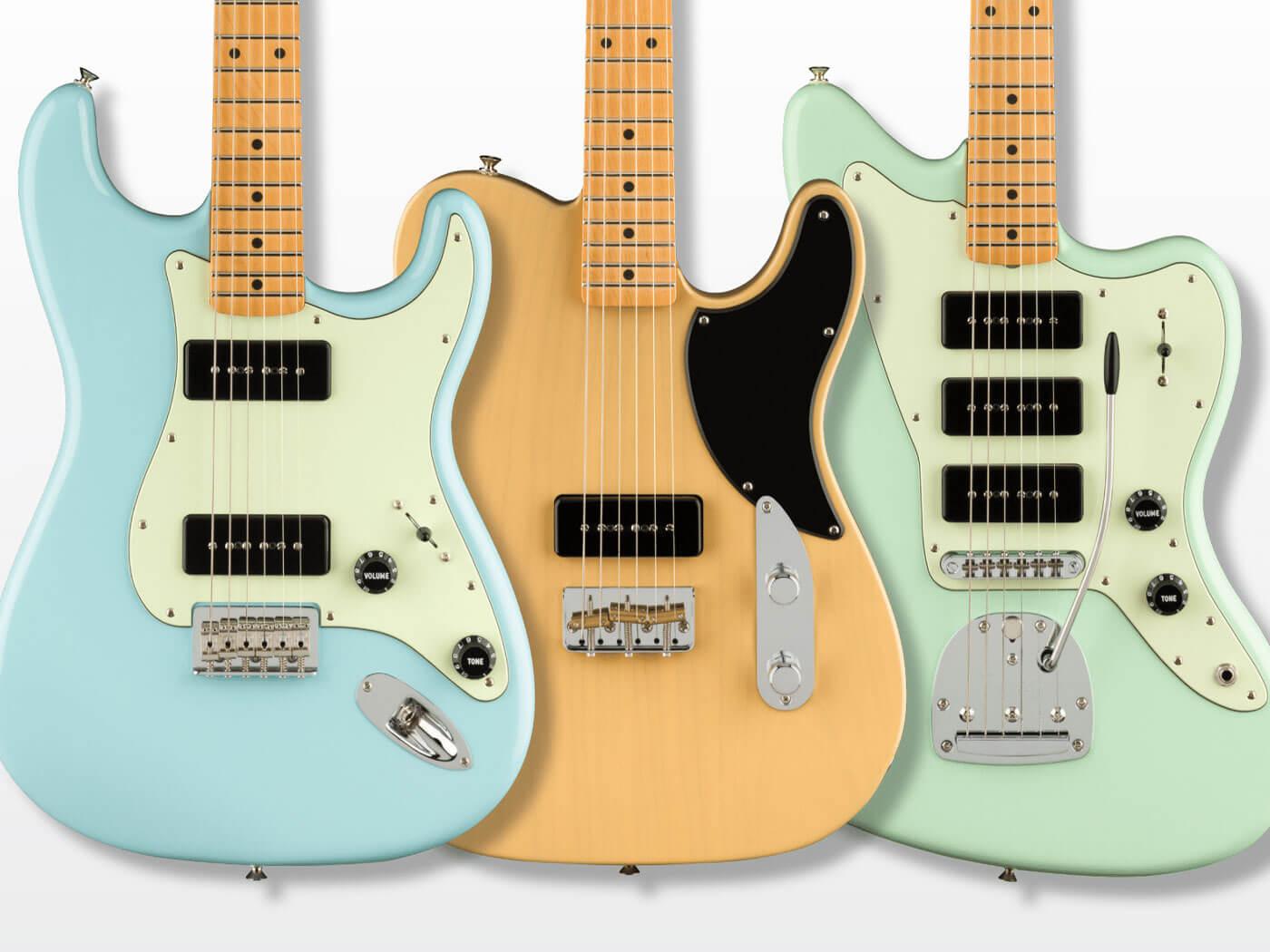 The new Fender Noventa range