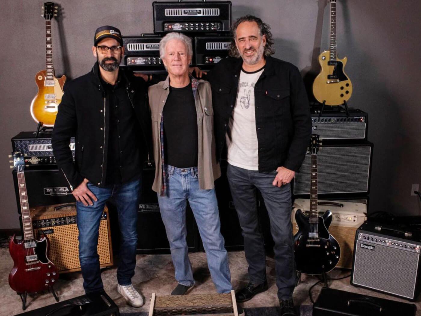 Gibson's Cesar Gueikian, Mesa/Boogie's Randall Smith and Gibson's JC Curleigh