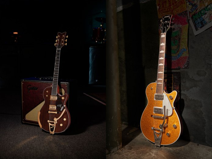 Two of Gretsch's new models for 2021
