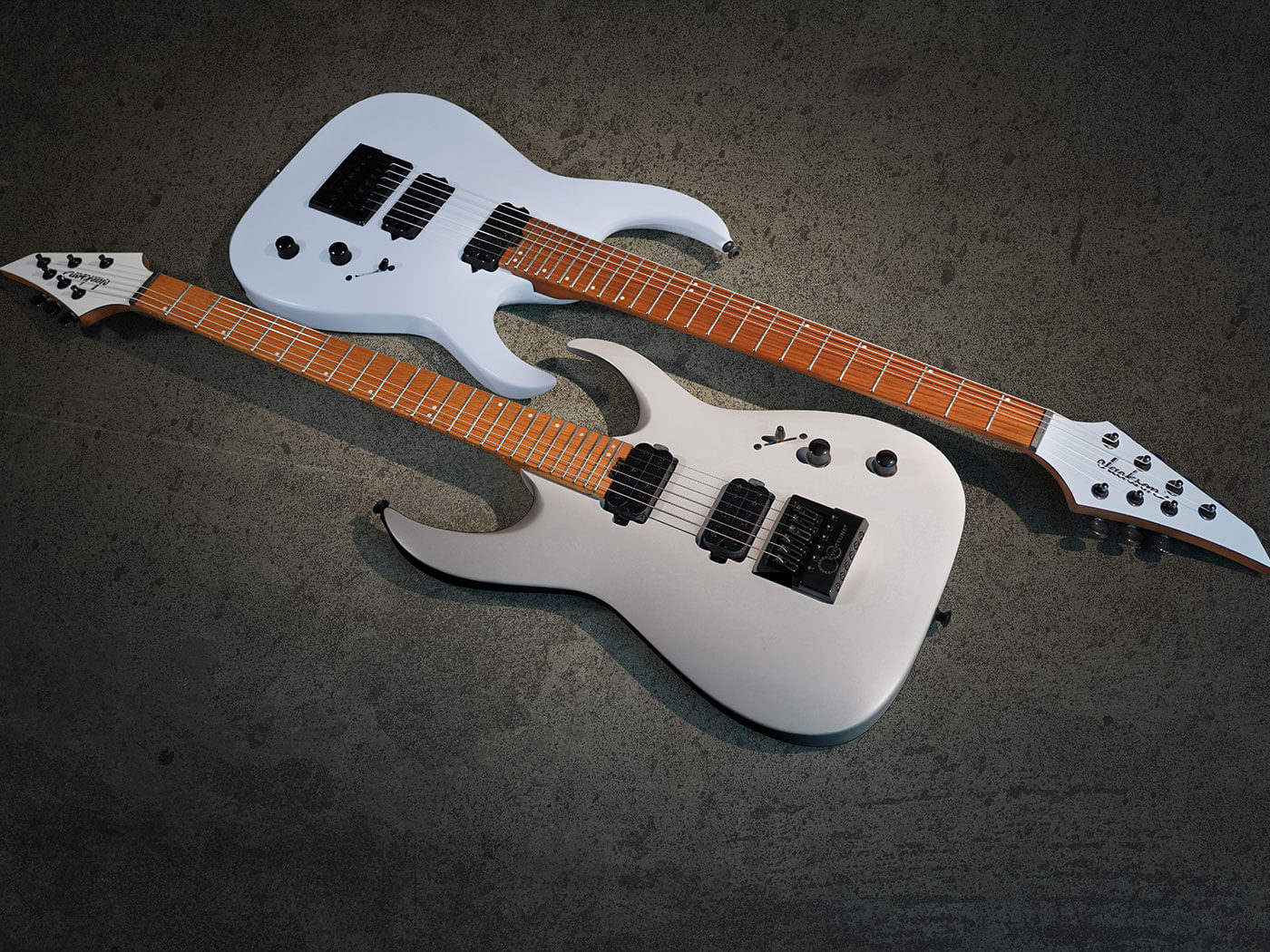 Misha Mansoor's new six and seven-string signatures.