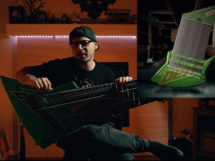 Jared Dines Mountain Dew Guitar