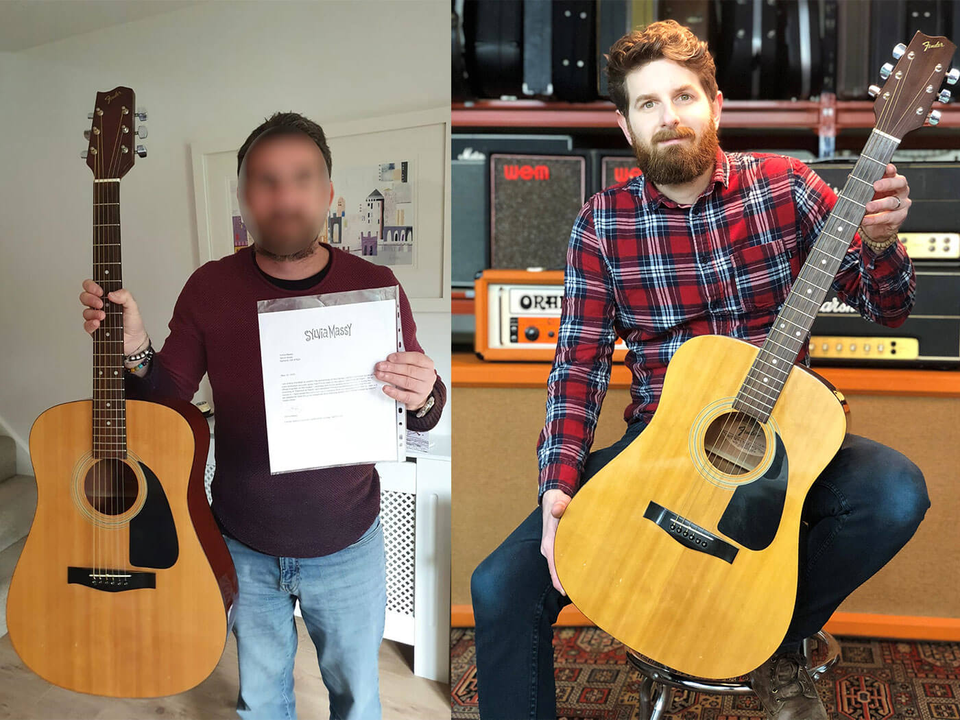 Two brothers are set to make up to £80,000 by auctioning a Prince-played acoustic guitar | Guitar.com | All Things Guitar