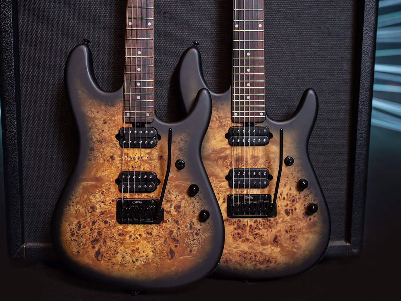 Sterling by Music Man's 2021 Jason Richardson models