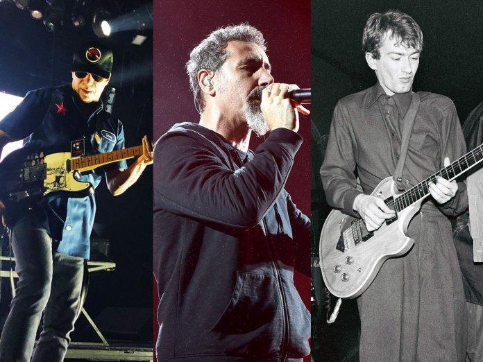 Tom Morello, Serj Tankian and Andy Gill