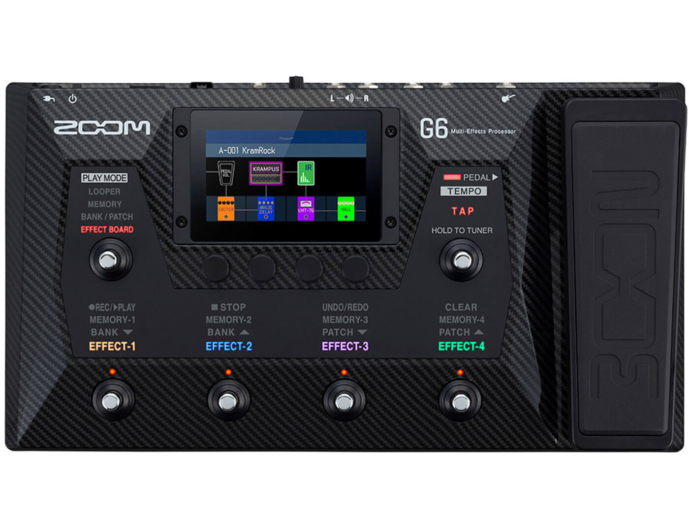 NAMM 2021: Zoom unveils its latest flagship multi-effects unit, the G6