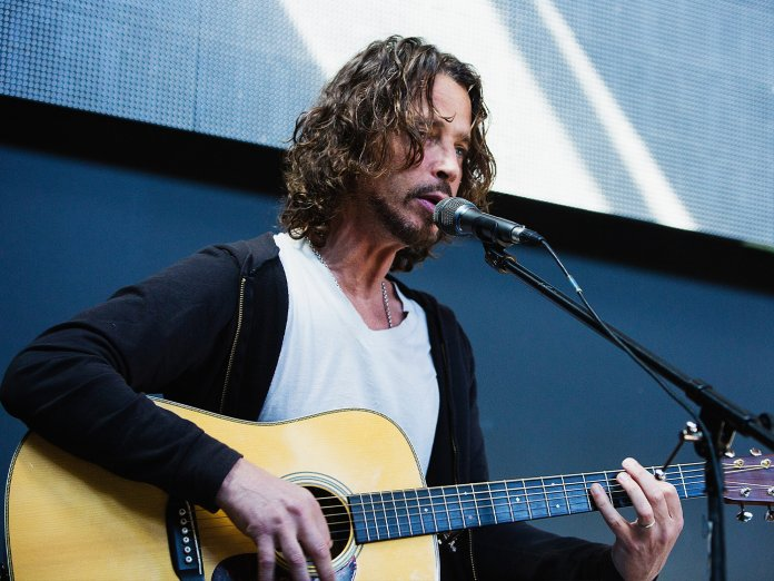 Chris Cornell onstage