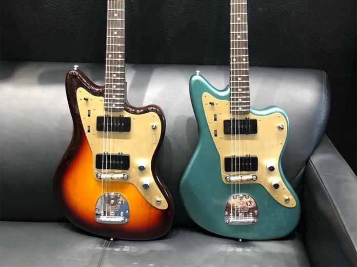 Fender Jazzmasters from Dennis Galuszka's Instagram