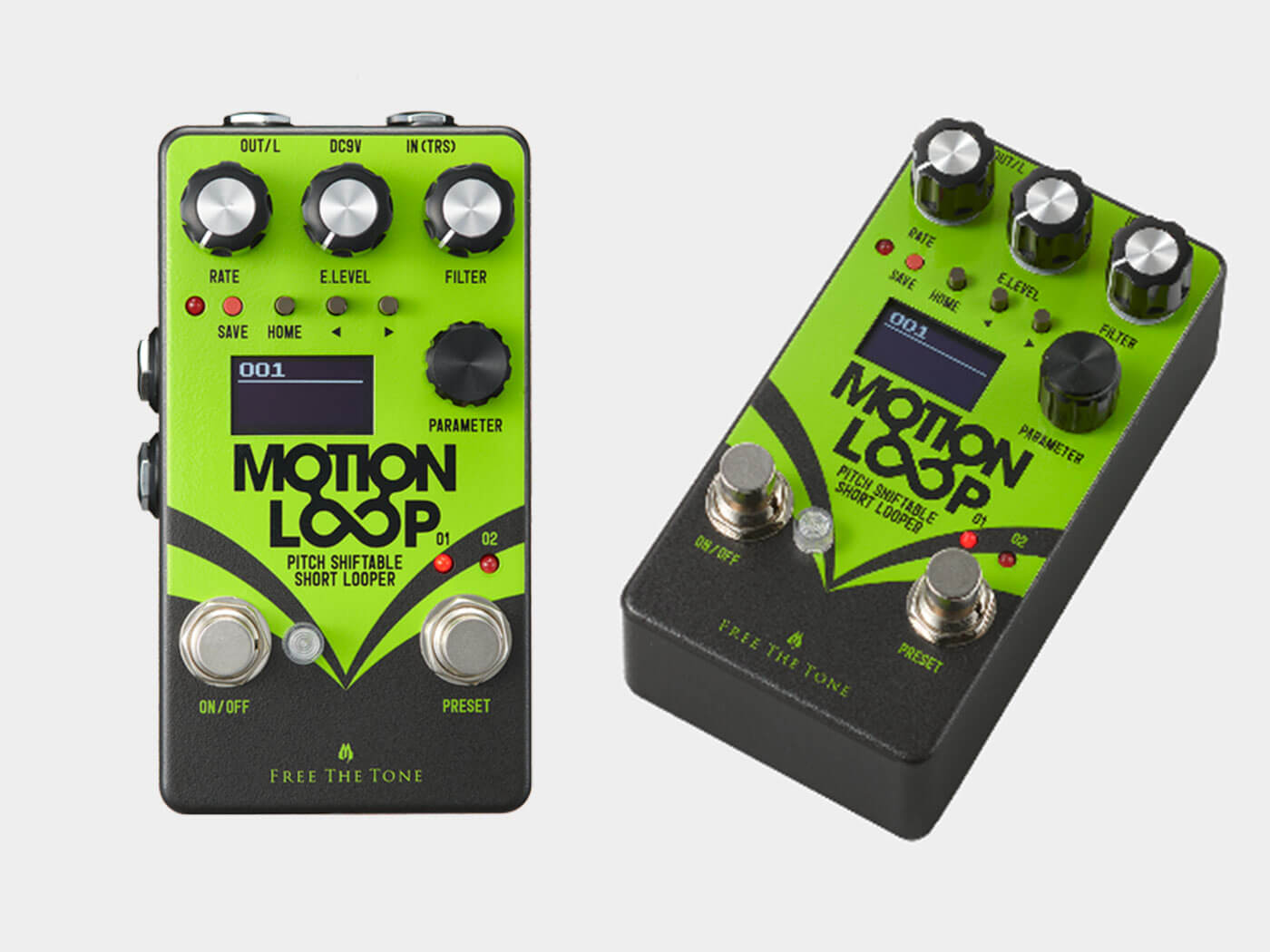 Free The Tone's Motion Loop