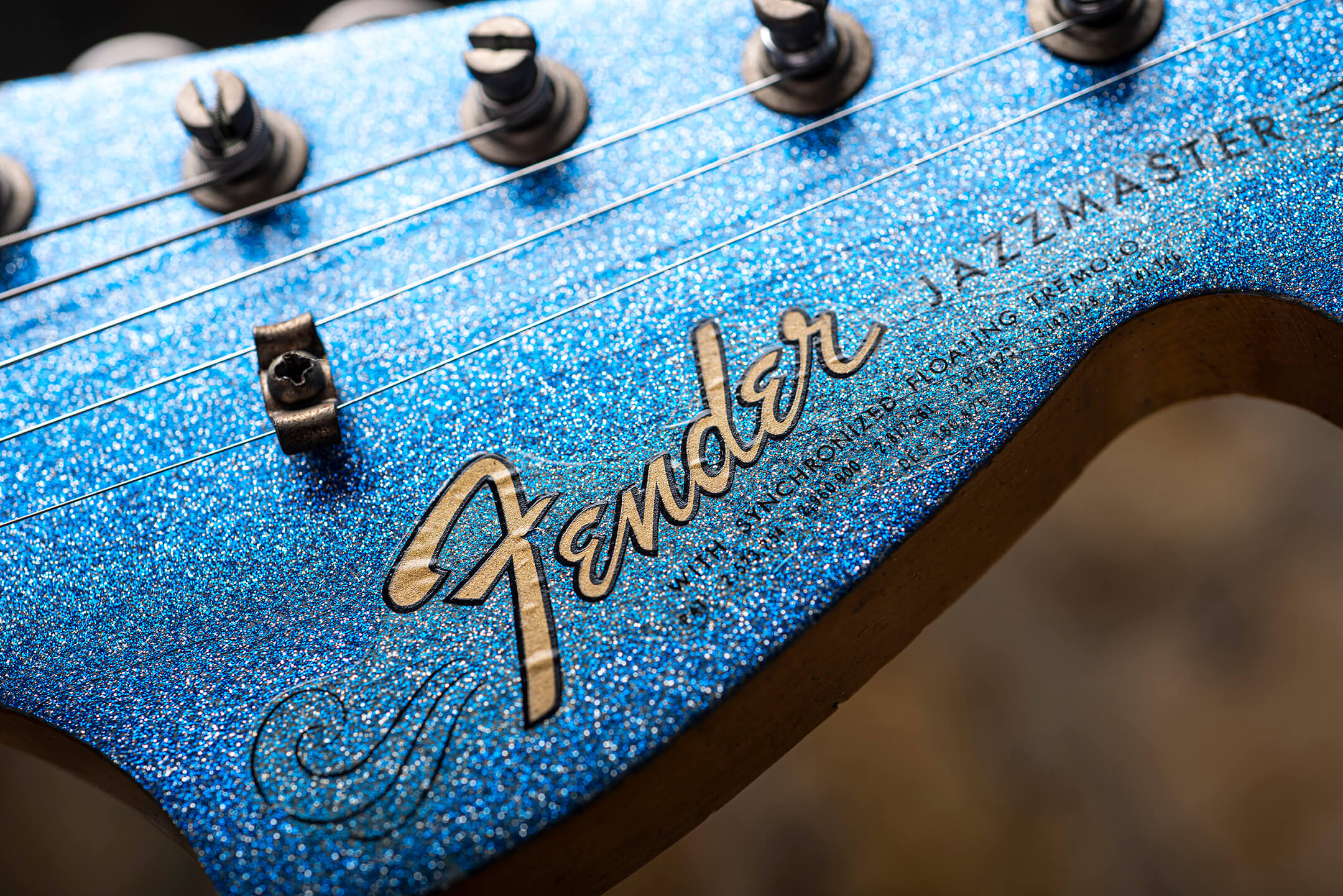 1966 Blue Sparkle Jazzmaster