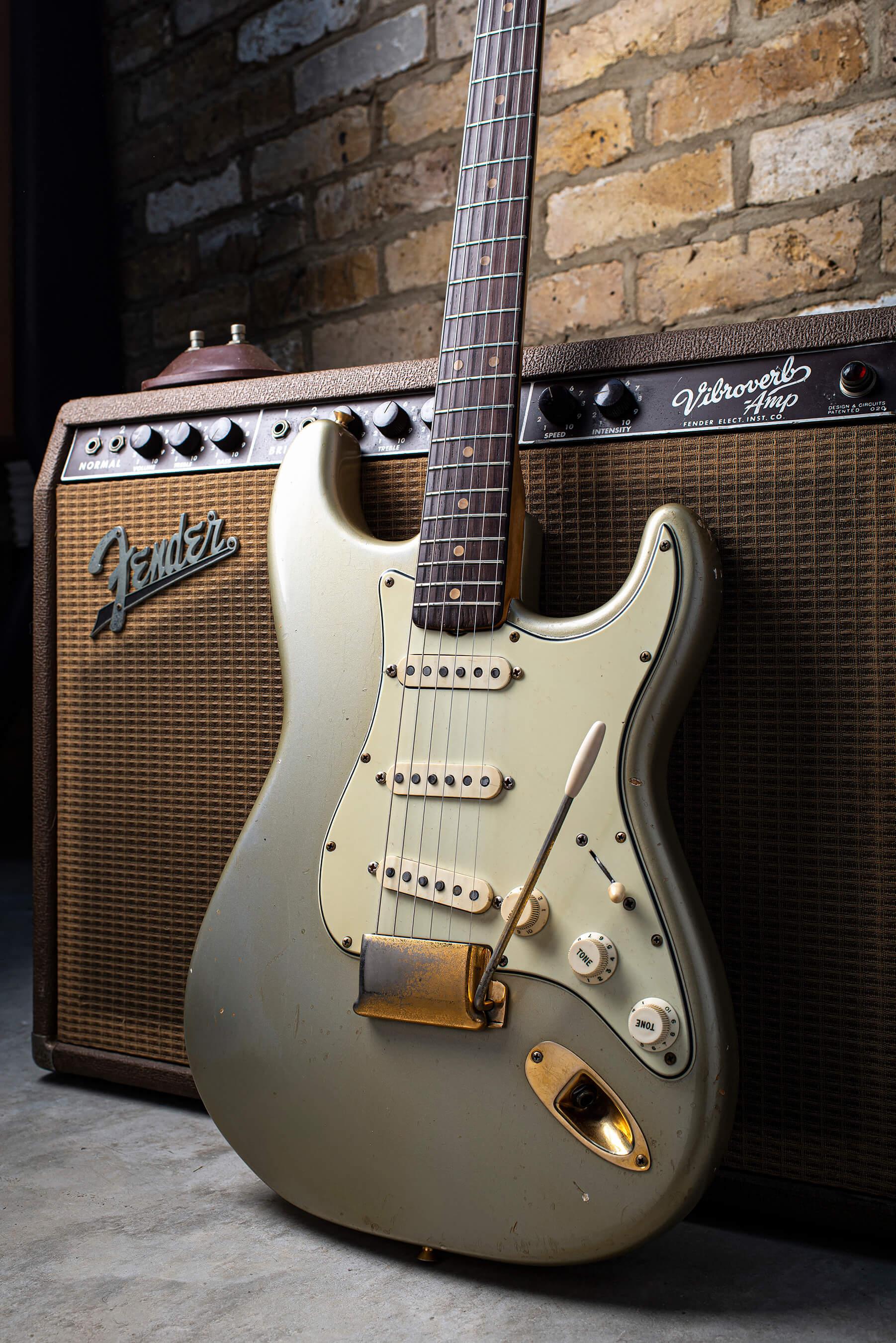 1964 Inca Silver Stratocaster